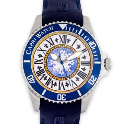 CAPRI WATCH watch sub 40 mm frist blu navi