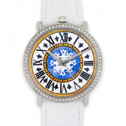 CAPRI WATCH WATCH RETRO FRIST 38 mm WHITE